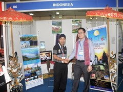 Make a copperation with Indonesia's partner