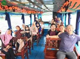 Tour Muslim Group Sungai Mekong 1 Hari