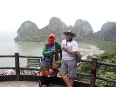 Ms. Ayu and her husband